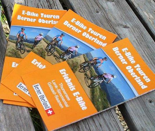 Tourenkarte E-Bike Touren Berner Oberland