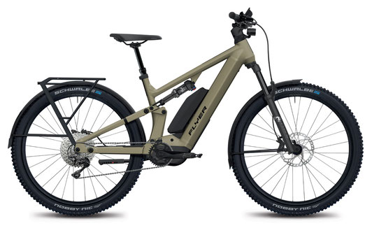 E-Mountainbike FLYER Goroc4, olive