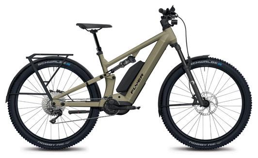 E-Mountainbike FLYER Goroc X mit Range Extender