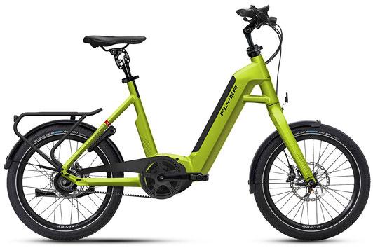 E-Bike FLYER T-Serie rotbraun oder schwarz