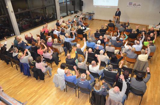 Altes Rathaus Breuningsweiler - Vereinsgründung am 11.04.2017