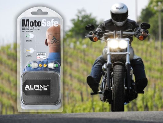 Alpine Hearing Protection MotoSafe Earplugs