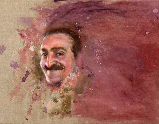 """1988 ; Andhra Afternoon - 16""""x20"""""""