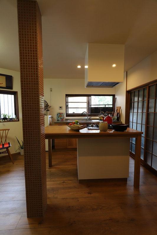 オーダーキッチン 造作キッチン Kyoto_kitchen Kyoto-reform