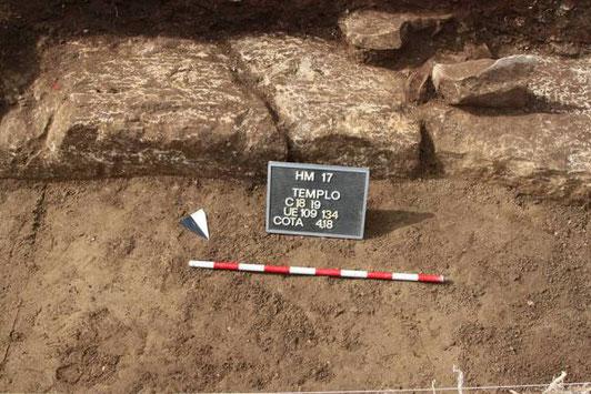Le lieu de la découverte. Crédit : Ministère Egyptien des Antiquités