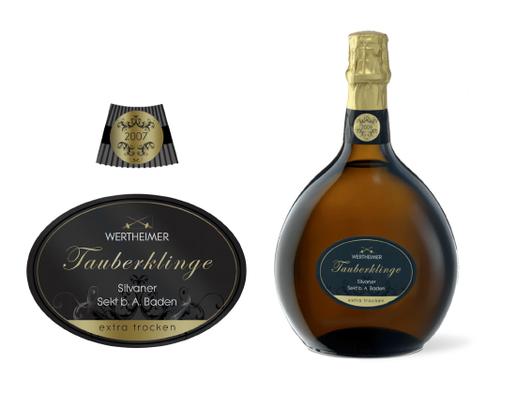 GWF - Wertheimer - Trauberklinge  - Sekt - Exklusiv - Klassisch - Modern - Marke - Packaging - Design - DesignKis - 2010 - Verpackung