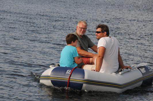 Das neue Schlauchboot, Zodiac 285 solid state