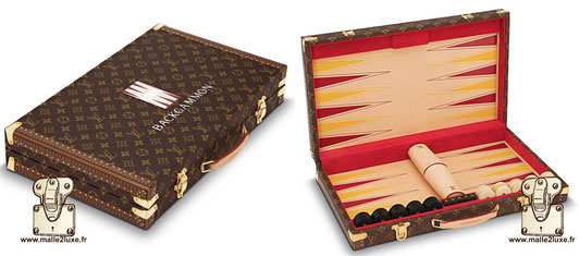 Valise Backgammon Louis Vuitton 2020 peinture