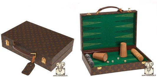Valise Backgammon Louis Vuitton 1970 moche ne pas acheter