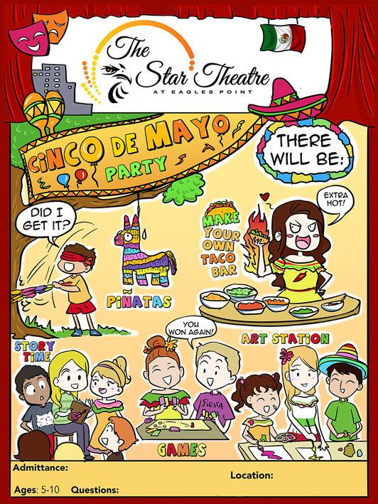 cartoon flyer commission, humor flyer, poster commission, flyer commission,  cartoon commission