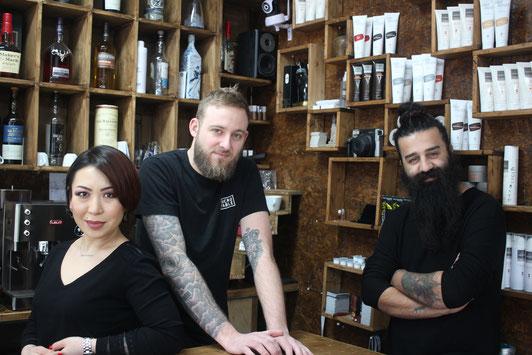 Das Team vom Fabulous Hairdresser