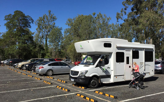 Mit Baby auf Reise mit dem Camper in Australien