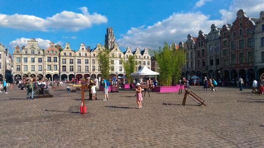 Arras Beflry square - Place des Héros