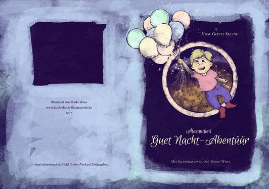 kinderbuch illustration gute nacht