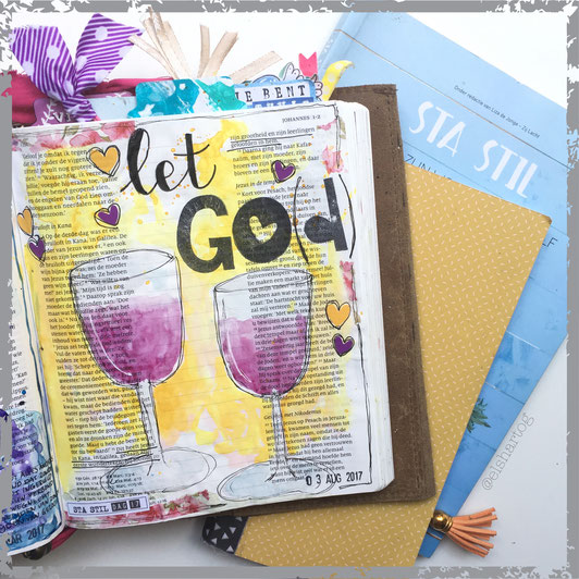 biblejournaling voorbeeld exodus 14  #zomerleesplanstastil