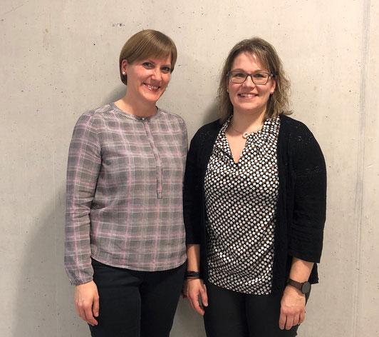 v.l. Katrin Schurr, Tanja Hieber