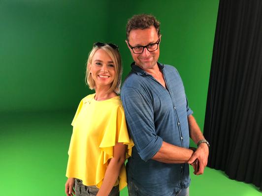 Annett mit Produzent und Regisseur Andreas Knuffmann