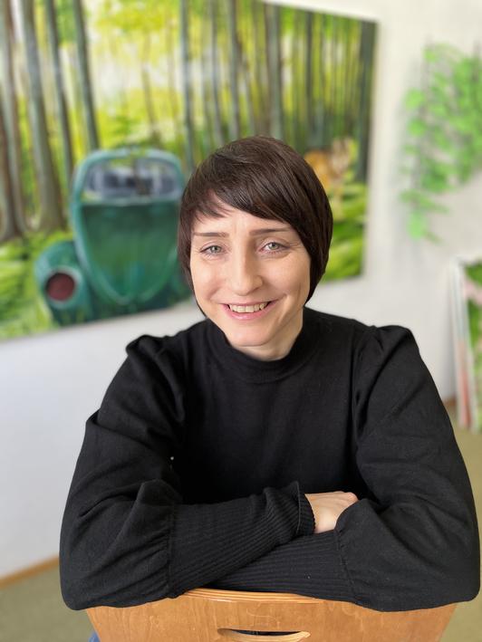 Resilienz, Resilienztraining im Atelier, Künstleratelier, München, Schwabing