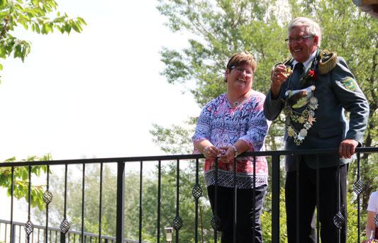 Rita und Wilhelm Gausmann, Königspaar 2018