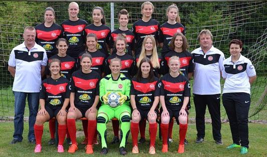 SV Niederhof Damenmannschaft 2017 / 2018
