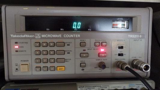 タケダ理研マイクロウェーブカウンター TR5211B