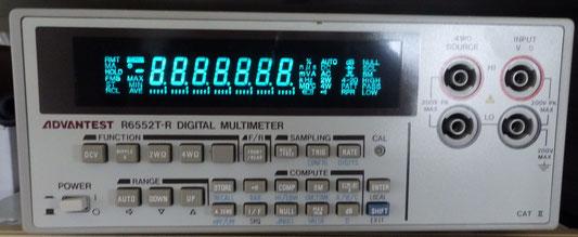 アドバンテスト デジタルマルチメーター R6552T-R