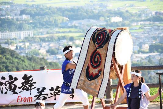 寧鼓座 奈良 和太鼓 バサラ祭り