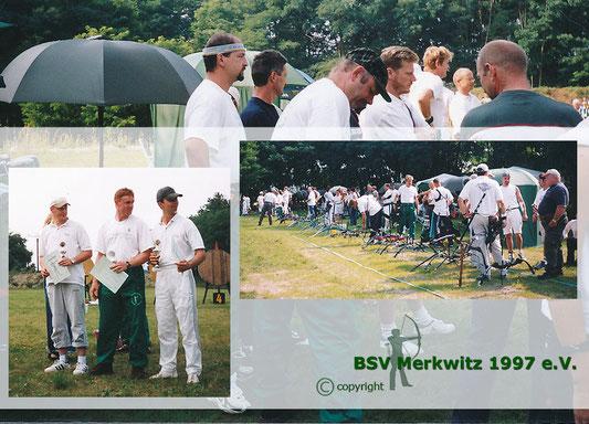 Fotocollage - 3.Heidewanderpokal in Merkwitz am 10.08.2002 - BSV Merkwitz