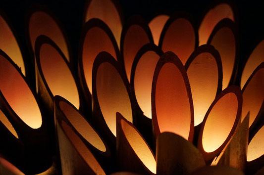 lanterne en bambou - bamboo lantern 001