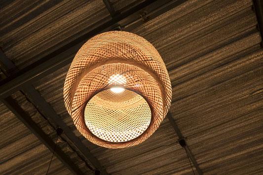 BAMBOO LAMP - lampe bambou -