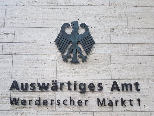 Berlijn - excursie - politiek -met gids - Nederlands - Auswärtiges Amt - Buitenlandse Zaken
