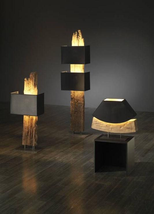 Lampen - Antike Eichenbalken