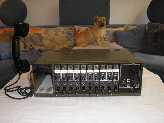 Fernsprechvermittlung der Fa. De Te We aus dem Jahre 1964
