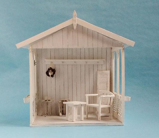 Mini-Gartenhaus 1:12