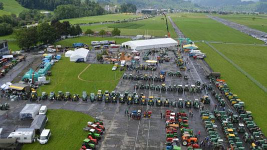 4. Bührer und Oldtimmer Traktorentreffen, Buochs NW