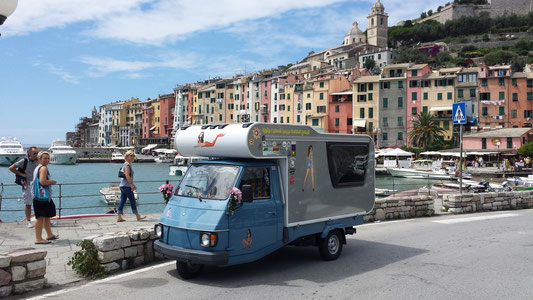 Italy-Trip mit dem Ape-Camper