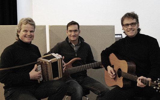 vlnr.:  Steff Zeller, Albert Boss, Aschy Balmer