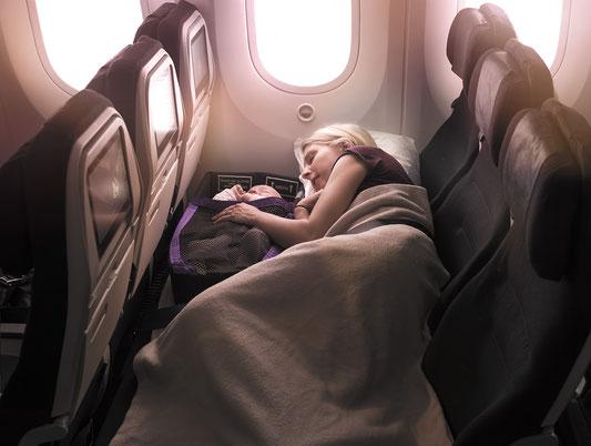 ニュージーランド航空 スカイカウチ
