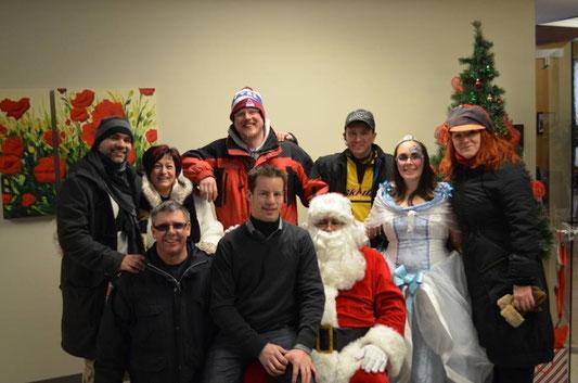Premier Noël du maire à l'Hôtel de ville - 14 décembre 2013