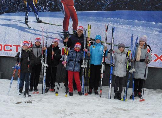 Районные лыжные гонки 28.02.2013.