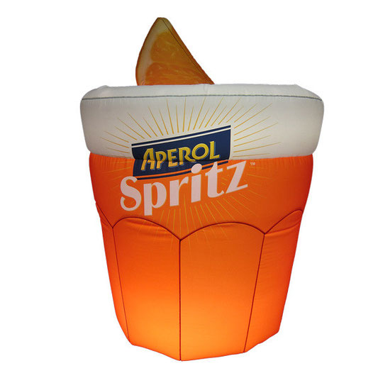 Inflatable Aperol Spritz  1,50mH