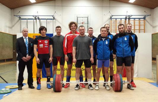 Gruppenphoto KSC Bad Häring/Kufstein & WKG Gitty City/HSV Langenlebarn & Huber Manfred