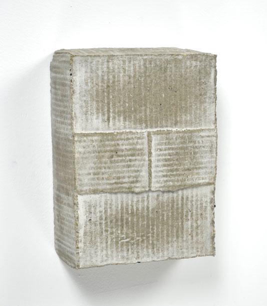 "Box No. 1, Amazon A1, concrete, 10""x 7""x 3"", 2016"
