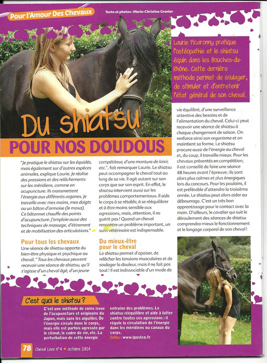 Cheval Love - Octobre 2014