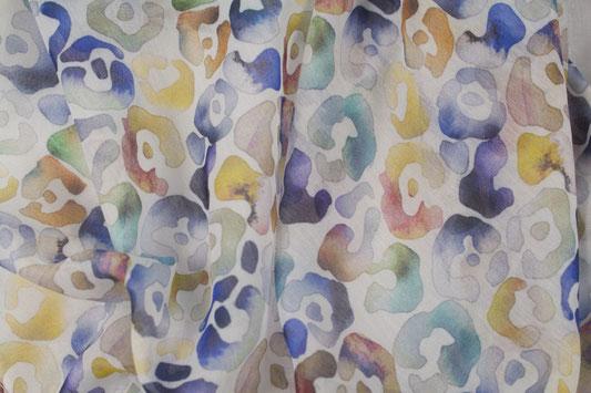 Schal mit buntem Animalprint