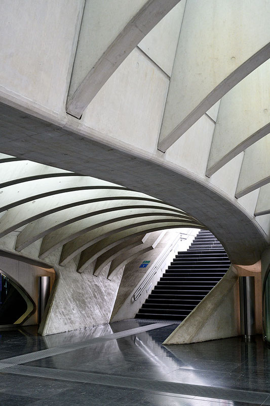 Architekturgerippe öffentlicher Raum, NIKON Z 7 und Z-NIKKOR 24-70 mm 1:4S. Foto: Dr. Klaus Schörner