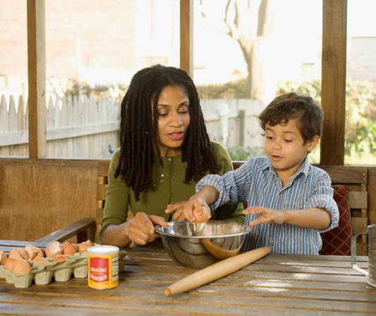 building language into cooking routines