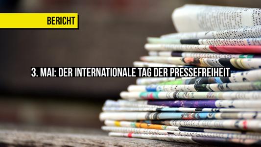 In unserem letzten Artikel liest du über die aktuelle Situation der Pressefreiheit