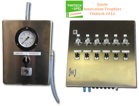Pneumatic box Vinitech