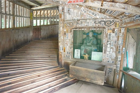 円通三匝堂を建立した郁堂和尚